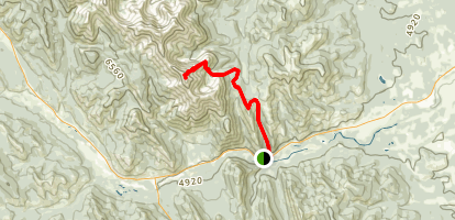 Holy Cross Mountain Map