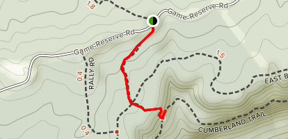 Indian Rockhouse Trail Map