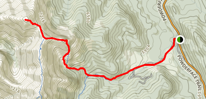 Boundary Peak & Boundary Ridge Map