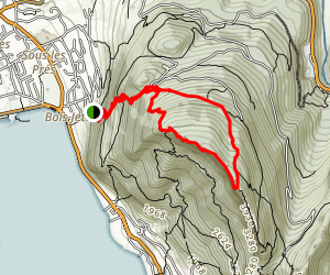 Mont Veyrier Loop Map