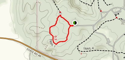 McCormicks Creek Trail 1 Map