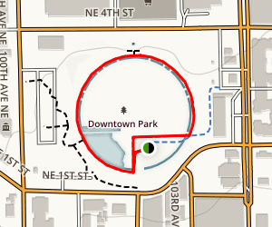 Downtown Park Loop Map