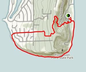 Possession Point State Park Loop Map