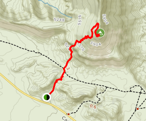 Castleton Tower Trail Map