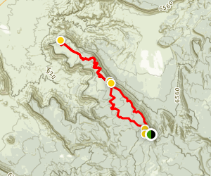 Fisher Mesa Loop Map
