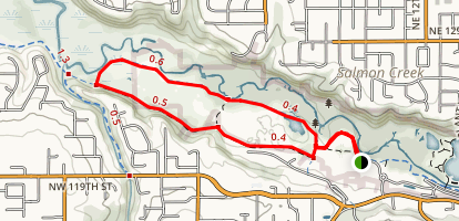 Salmon Creek Trail and Greenway Loop Map