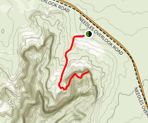 Alvarado's Gold Mine Trail  Map