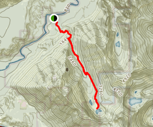 Granite Lakes Trail Map