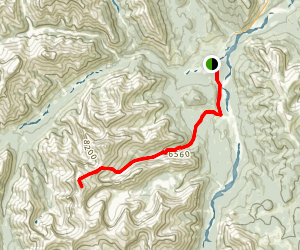Mount Cornwall Route Map