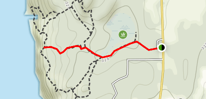 Madrone Trail Map