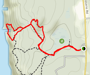 Porpoise Point Trail Map