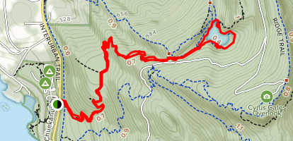 Fragrance Lake Trail Map