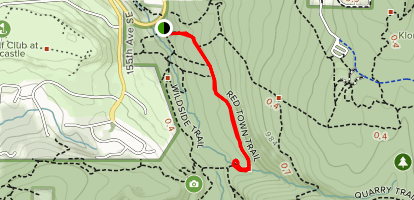 Red Town Trail Map