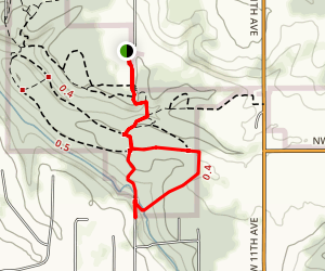 Grist Mill Loop Map