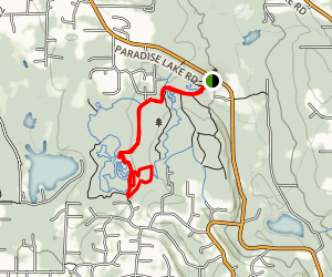 Mainline, Southern Traverse and Cedar Run Loop Map