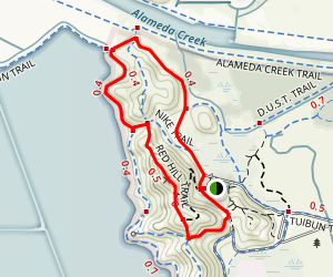 Quail Red Hill Bayview Loop Map