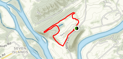 Upland Trail Outer Loop Map