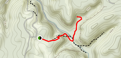Muir Valley South Trail Map