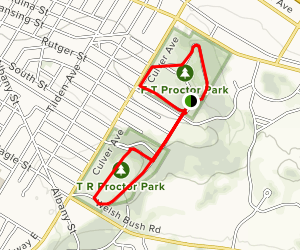 Proctor Park Greater Loop Map