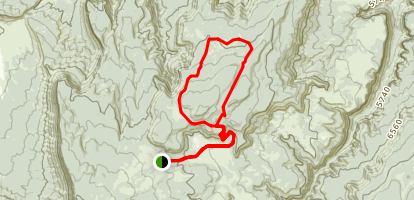 Polar Mesa Mining Loop Map