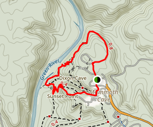 Green River Bluffs Trail Map