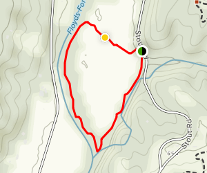 Boones Bottom Trail Map