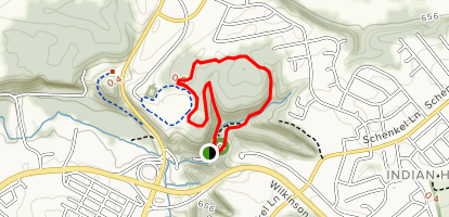 Holly and Osage Trail Loop Map