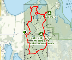North/South Trail Map