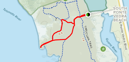 Road Map Of South Florida.Guana Trail Marshview Lane And Shellbluff Road Florida Alltrails