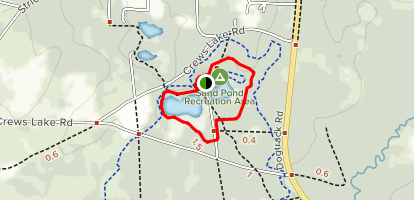 Campground Trail Map