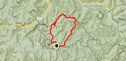 Gray's Arch Trail Loop Map