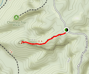 Half Moon Arch Trail Map