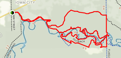 Little Big Econ State Forest Loop Map