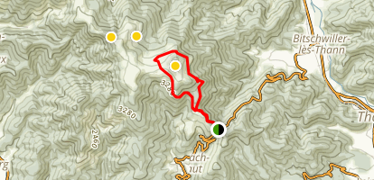 Rossberg Loop Trail Map