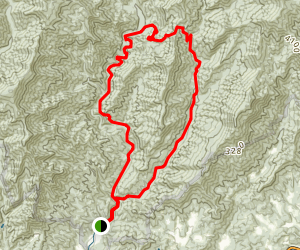 Deep Creek/Indian Creek Loop Map