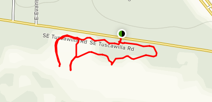 Tuscawilla Preserve Map