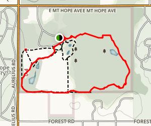 Tamarak Trail  Map