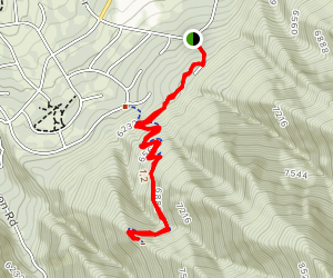 Woodland Hills Switchbacks Map
