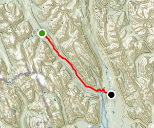 Trans Canada Trail High Rockies Section Map