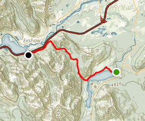 Trans Canada Trail Jewel Pass and Quaite Creek Sections Map