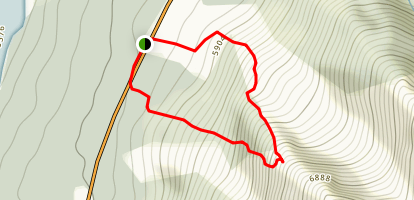 Mount Bullhorn Map