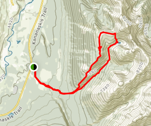 Old Baldy Ridge Trail Map