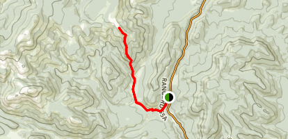 South Volcano Ridge Map