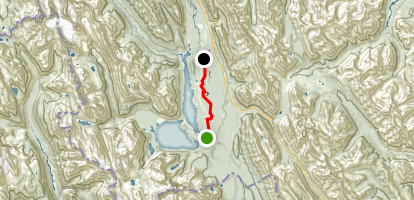 Trans Canada Trail Peter Lougheed Provincial Park Section Map