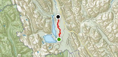 Trans Canada Trail Peter Lougheed Provincial Park Section [CLOSED] Map