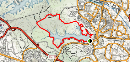 MacRitchie Nature Trail Map
