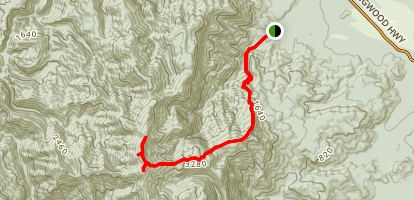 Parapara Peak Track Map