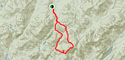 Little Marcy to Gray Peak to Avalanche Pass Map