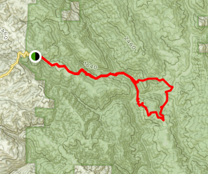 Lost Springs Loop Map