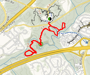 Gwinnett Environmental Heritage Center Trails Map